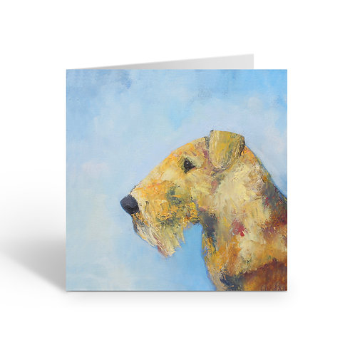WHOLESALE PACK OF 6 Proud Airedale - D073
