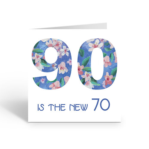 WHOLESALE PACK OF 6 90 is the new 70  -X730