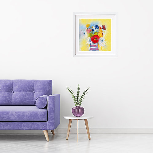 Flowers in Sunshine - print