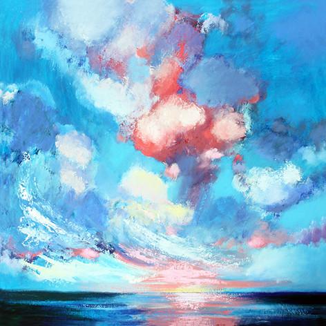 Shannon - Oil on Canvas 80 x 80cm framed £595