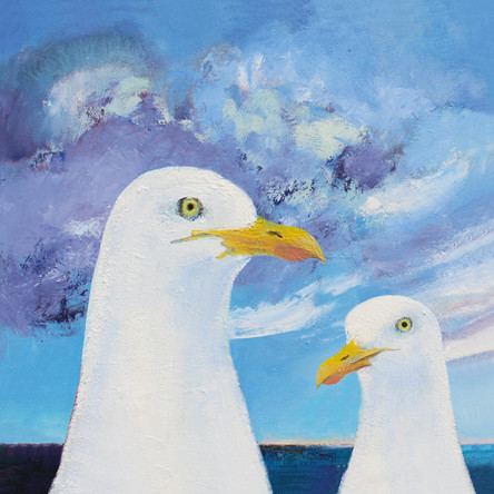 Two Seagulls SOLD