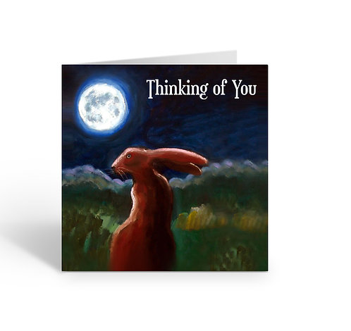 Thinking of You / Hare - card