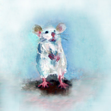 Standing Mouse SOLD