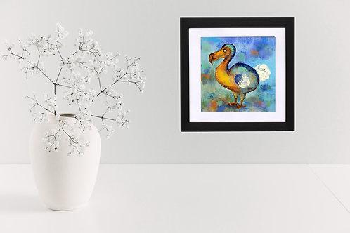 Golden Dodo - print