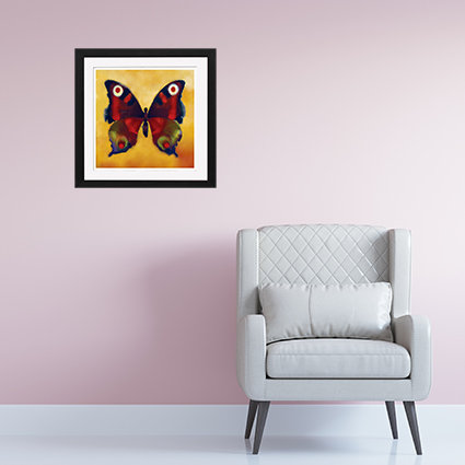 Red Butterfly - print