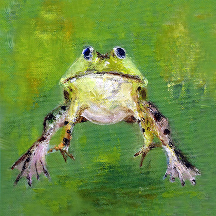Leaping Frog SOLD
