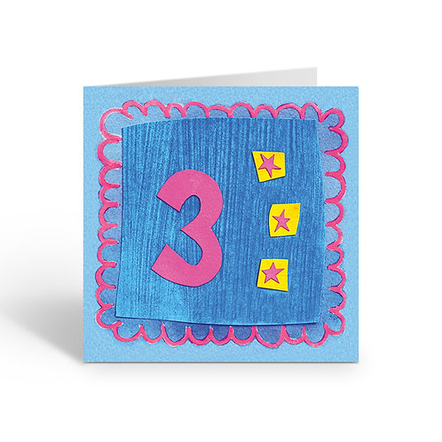 Junior Three - card