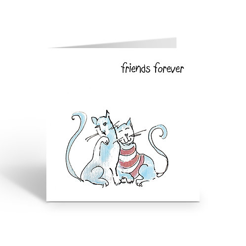 Friends Forever - card