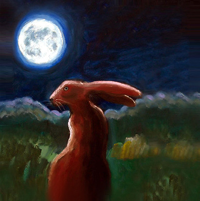 Moonlight Hare SOLD