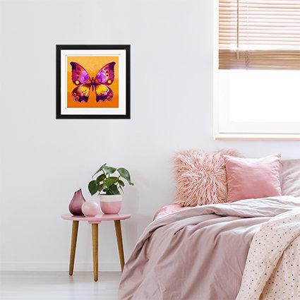 Orange Butterfly - print