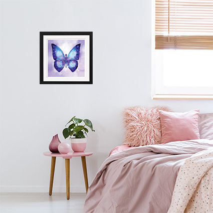 Blue Butterfly - print