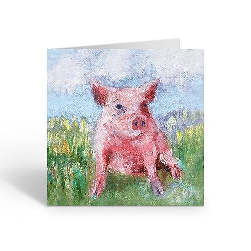 Piggy - card