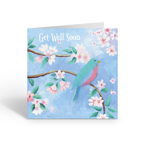 WHOLESALE PACK OF 6 Get Well / Song - Z316