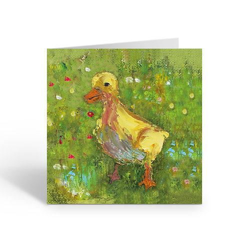 Little Duckling - card