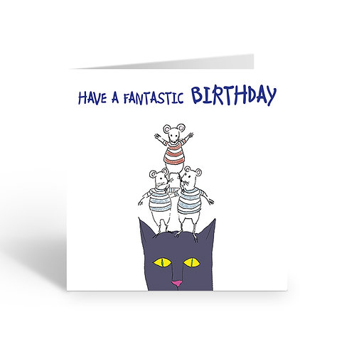 Awesome Friends (Birthday) - card