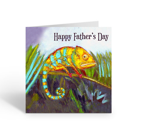 WHOLESALE PACK OF 6 Father's Day / Chameleon - Z300