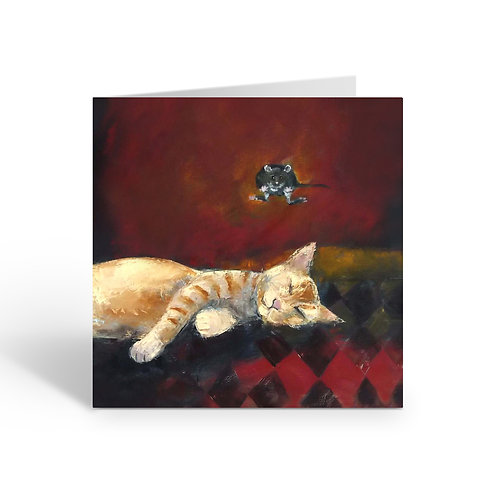 Cat and Mouse - card