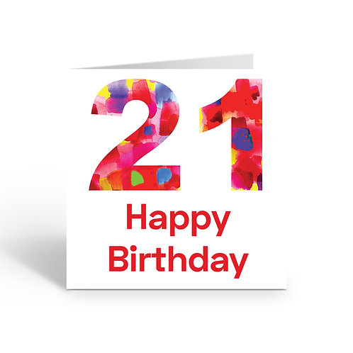 WHOLESALE PACK OF 6 Numbers Design 21- X716