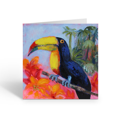 WHOLESALE PACK OF 6 Jungle Toucan - J062
