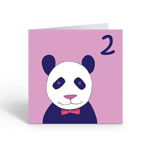 Carnival Panda - card