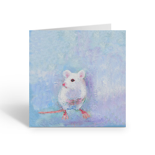 Little House Mouse - card