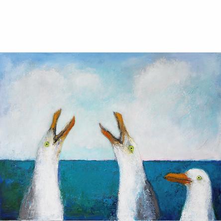 3 Seagulls