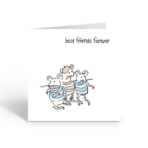 WHOLESALE PACK OF 6 Best Friends Forever -Y817