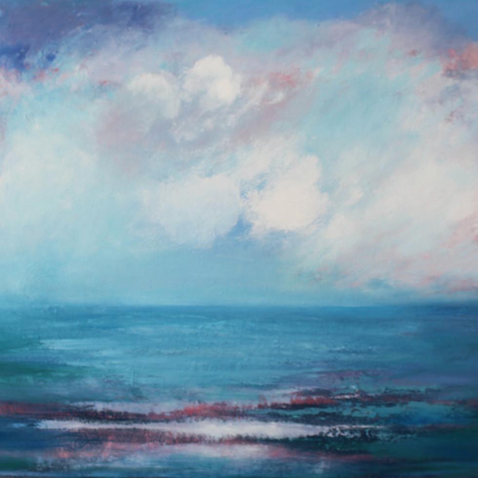 Fair Isle  - Oil on Canvas 80 x 50cm framed £350