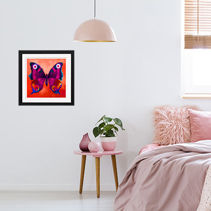 Rose Butterfly - print