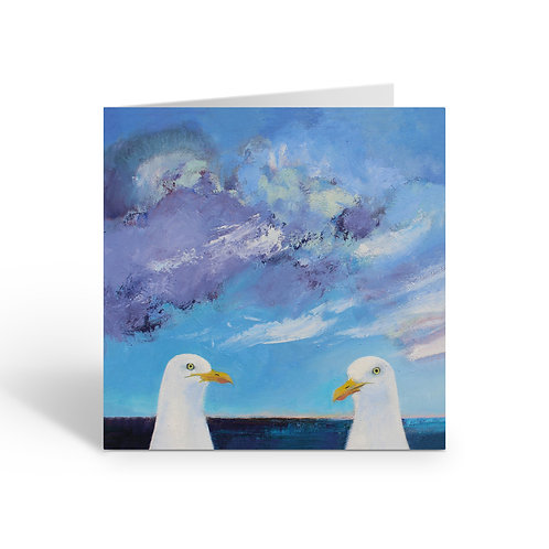 WHOLESALE PACK OF 6 Two Seagulls - B075