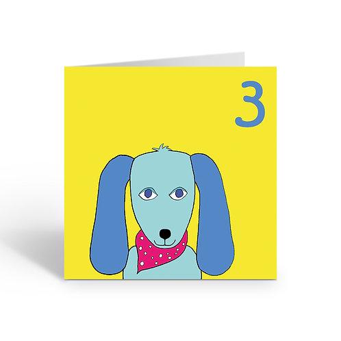 Carnival Dog - card