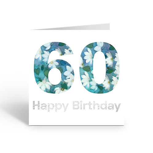 Numbers Pattern 60 - card