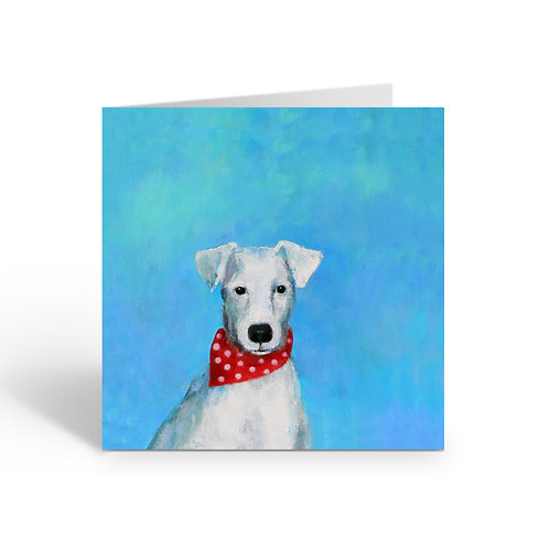 Cheeky Jack Russell - card