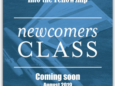 "Newcomers Class - ""Into the Fellowship"""