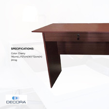 OFT-1019 Wood Office Table (Cherry)