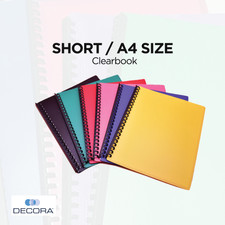 Clearbook Short/A4 Size