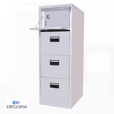 4 Drawer Filing Cabinet with Safety Vault
