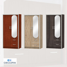 DECORA AZWD308 2 Door Wardrobe