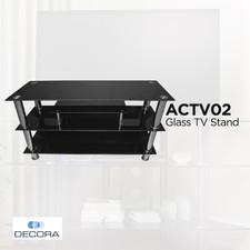 ACTV02 Glass TV Stand