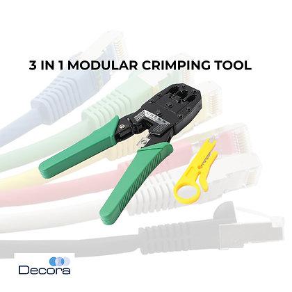 3-in-1Modular Crimping Tool