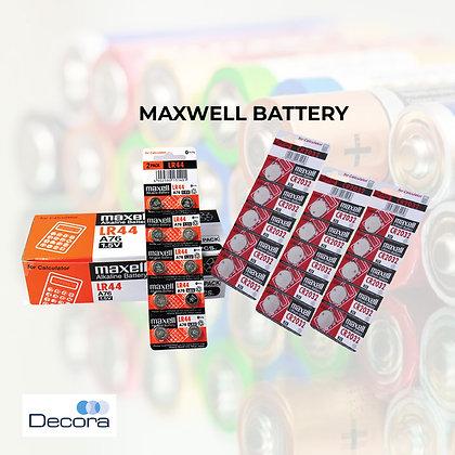 MAXWELL Alkaline Battery