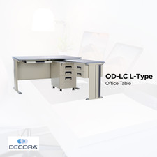 OD-LC L-Type Office Table