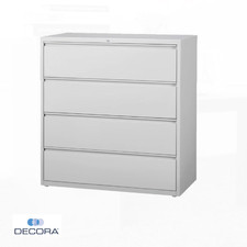 4 Drawer Filing Cabinet Lateral