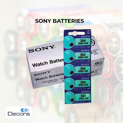 Sony Silver Oxide Battery