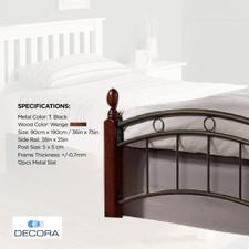 AZS005 Single Bed