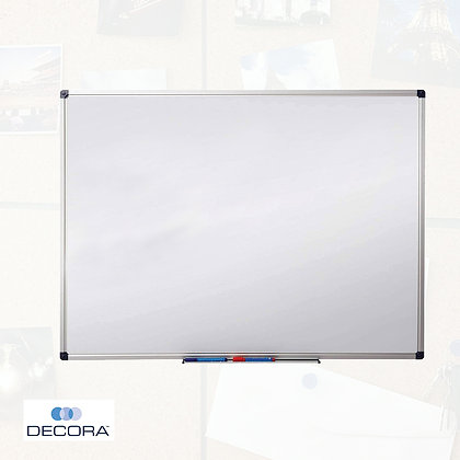 MAGNETIC WHITEBOARD WITH ALUMINUM FRAME