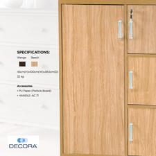 DECORA AZKC711 Kiddie Cabinet
