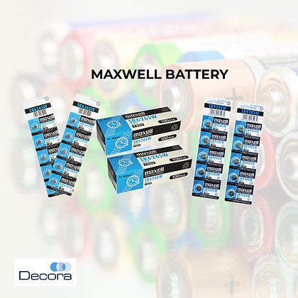 MAXWELL Silver Oxide Battery