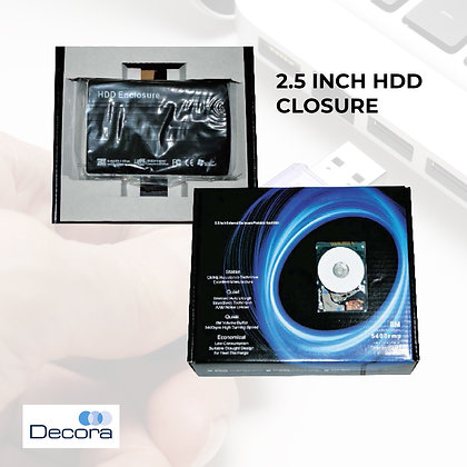 "2.5""HDD Closure"