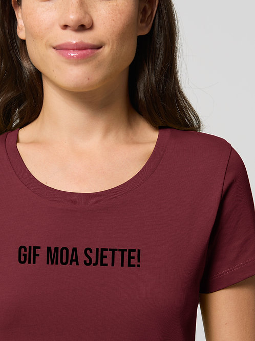 Gif moa sjette! Women Shirt